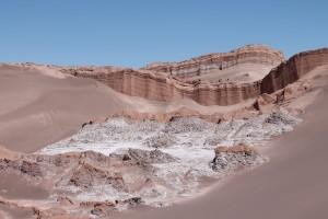 Atacamawüste - Valle de la Luna