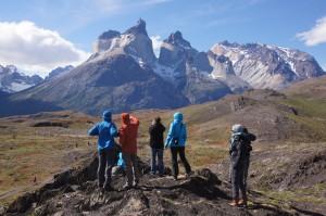 Wanderung im Torres del Paine N.P.